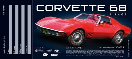 Tirage Corvette