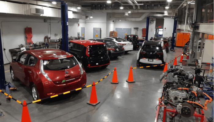 Mécanique de véhicules électriques